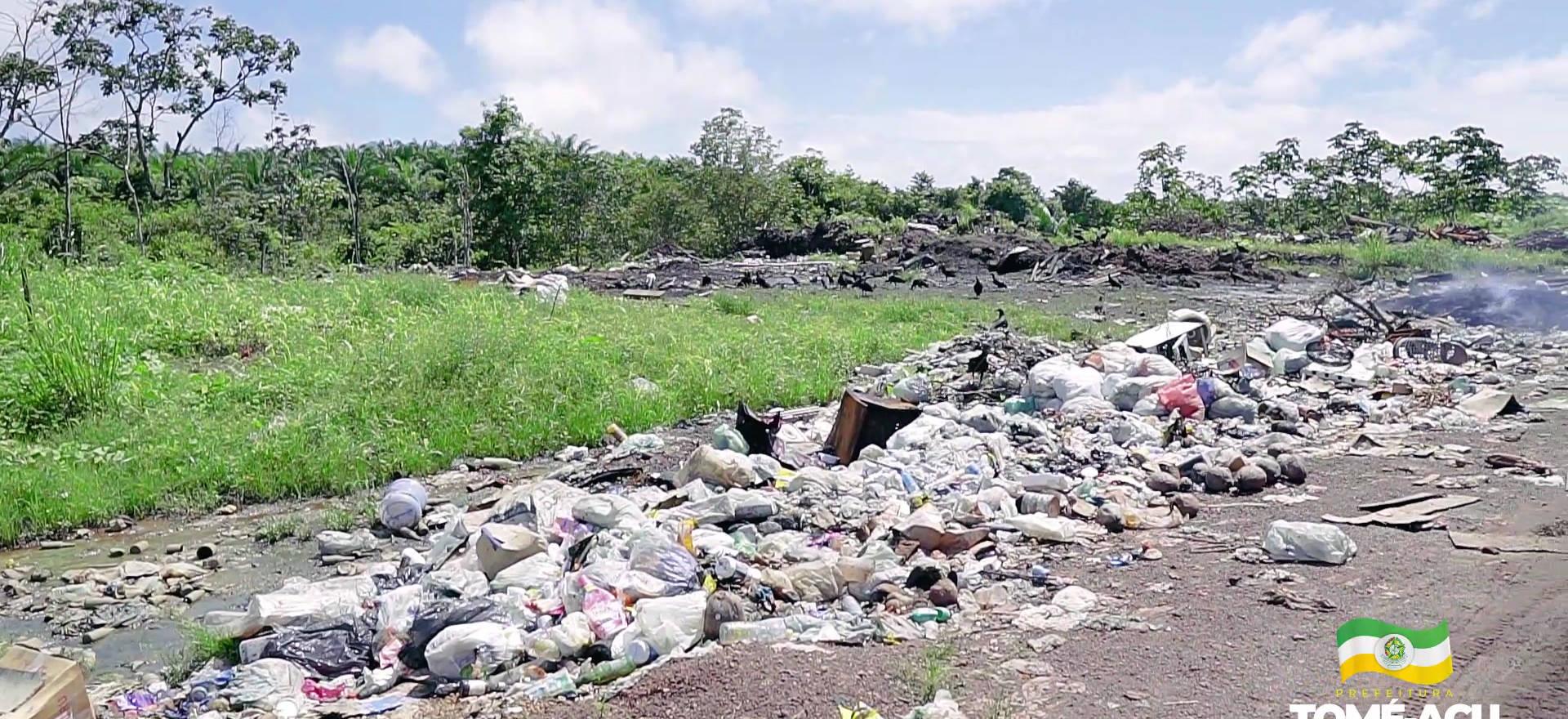 SEMMA realiza visita para viabilizar o descarte correto do lixo da Vila Nova