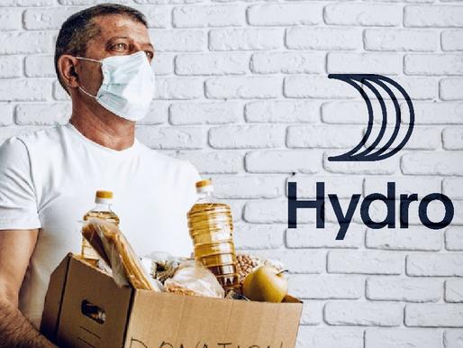 Prefeitura recebe doação de 700 cestas básicas da empresa Hydro