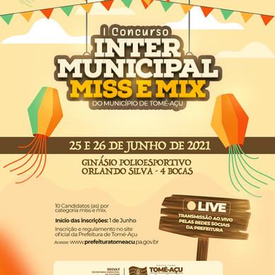 Prefeitura realiza 1º Concurso Intermunicipal de Miss e Mix