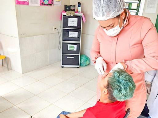 Ação de Saúde no Ramal Apuí.