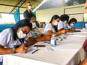 Ação conjunta entre as secretarias de saúde e educação para a 2ª dose contra Covid-19