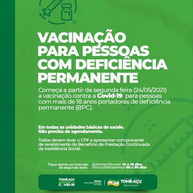 Calendário de Vacinação!