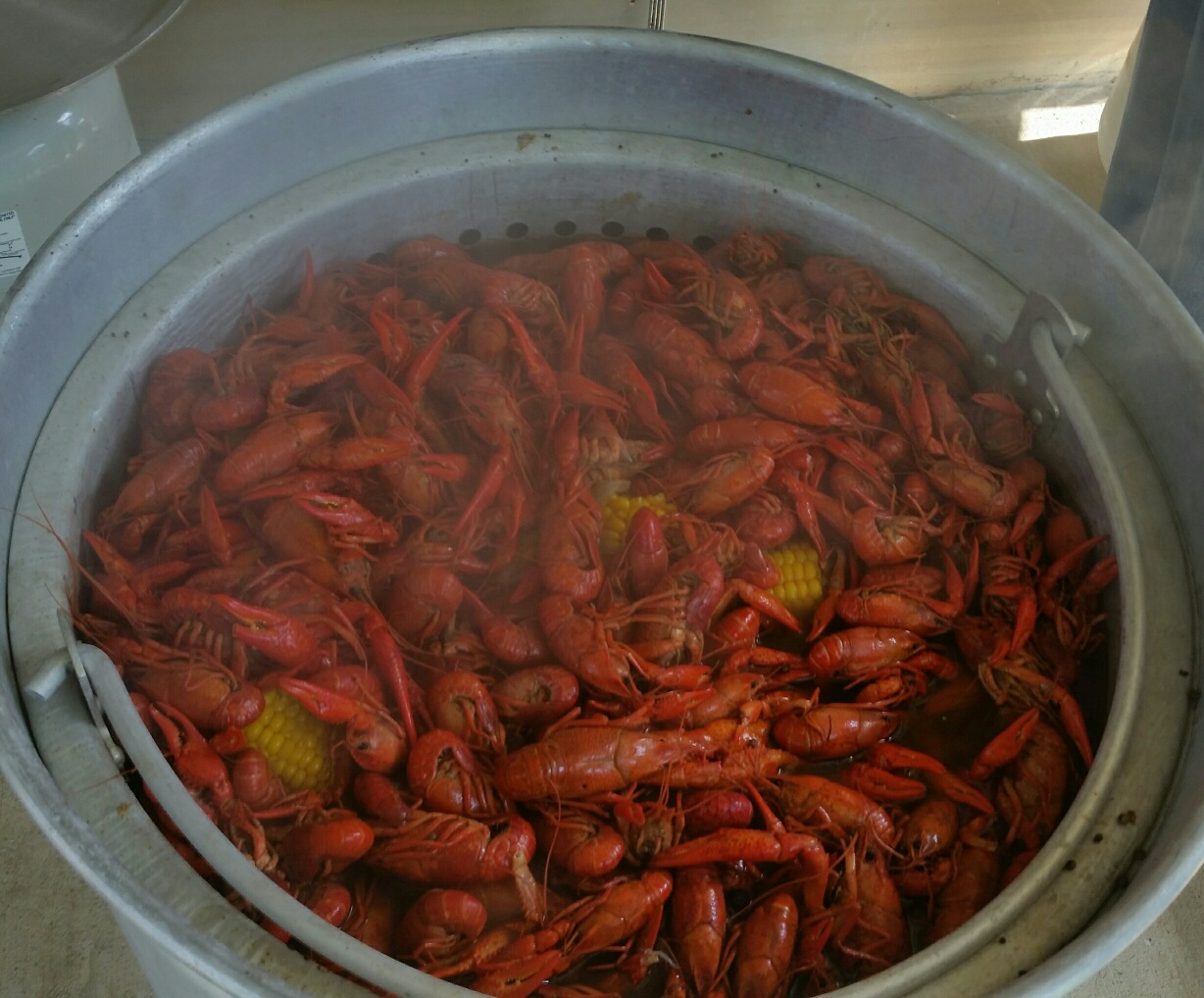 Crawfish Cooked