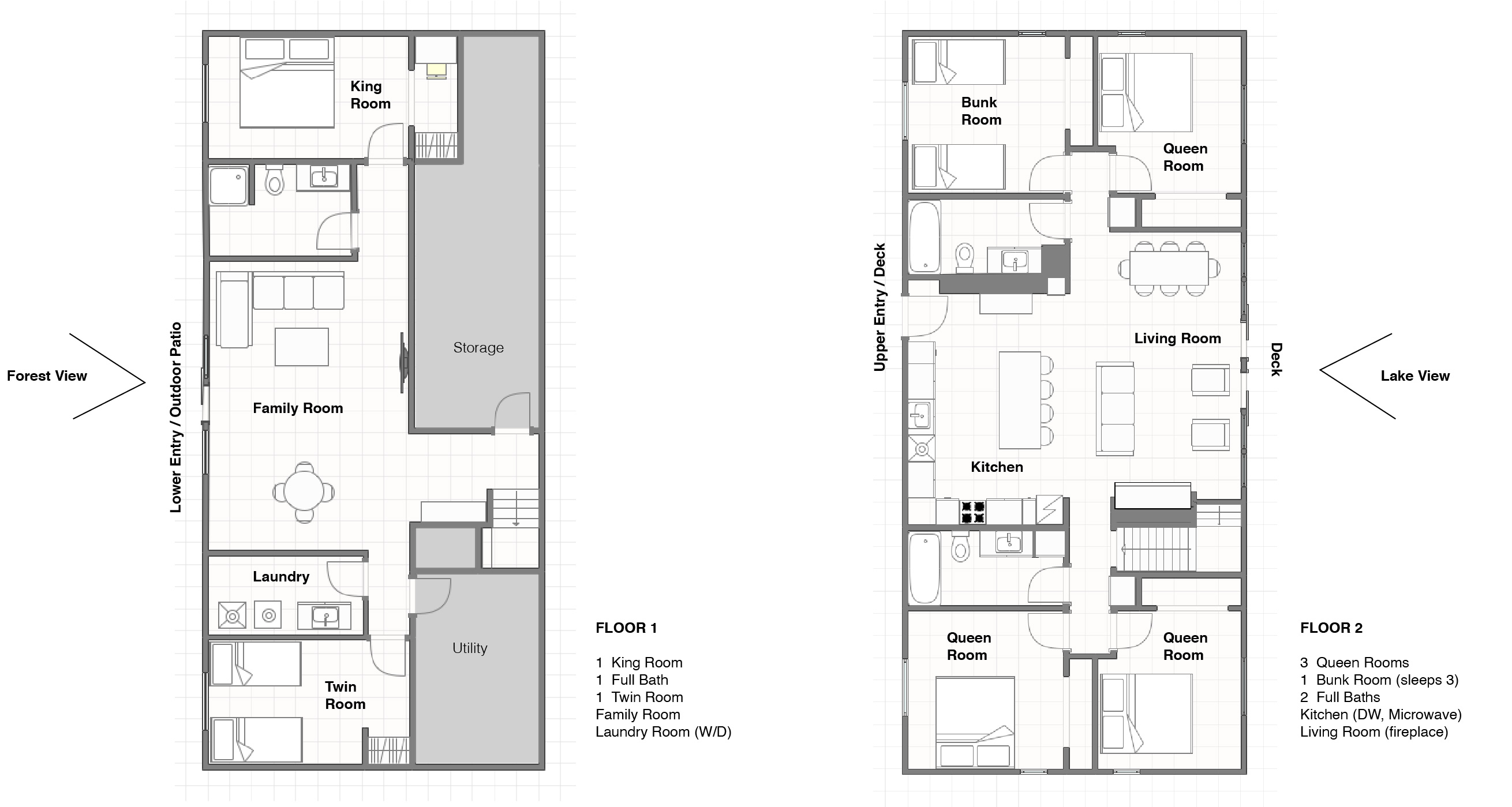 Bauers Lodge_02_Floor Plans