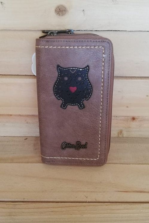 Cotton Road - Large Owl (Brown)