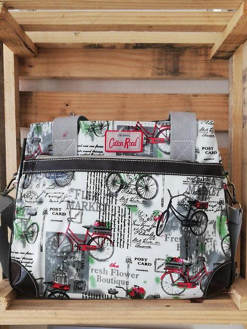 PVC Cotton Road - Canvas bag
