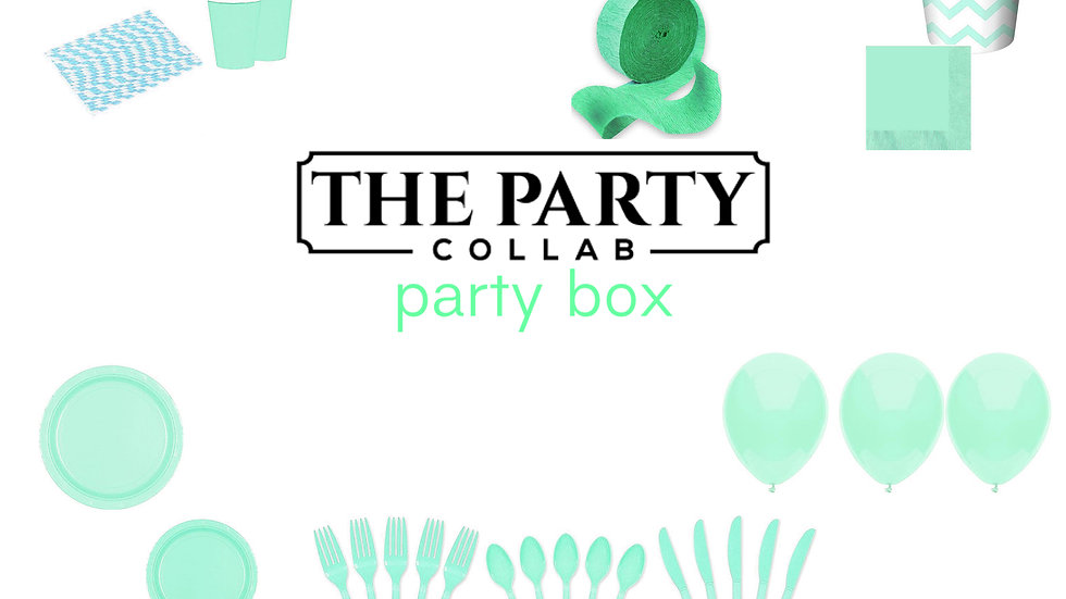 Teal Party Box
