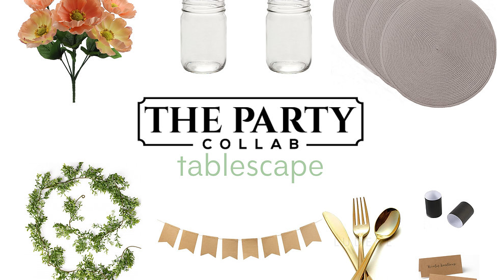 Tablescape Box for 6