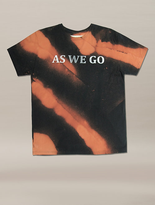 AS WE GO BLEACHED T CLOUD