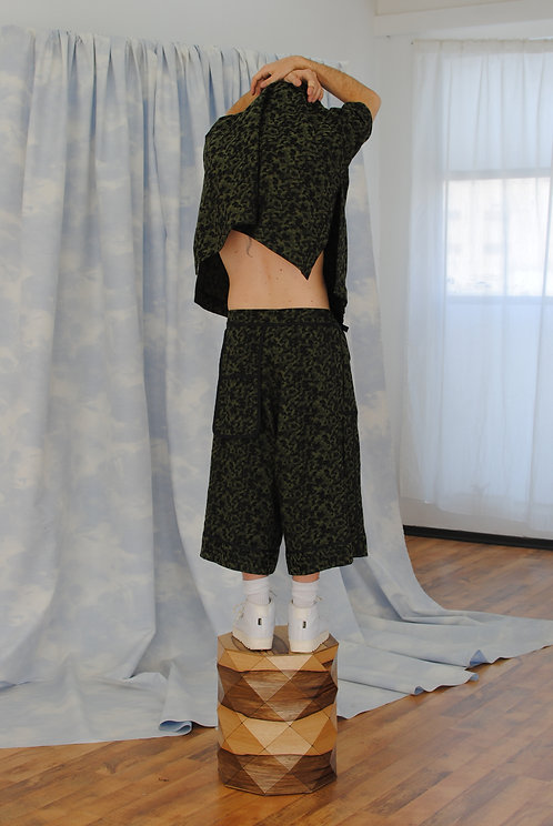 CAMOUFLAGE CULOTTES
