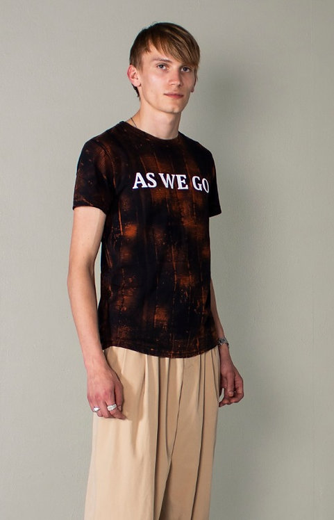 'AS WE GO' BLEACHED T GRID
