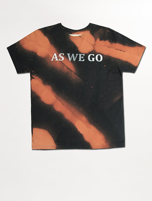'AS WE GO' BLEACHED T CLOUDS
