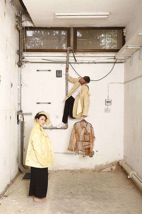 Muslin Brothers Fashion Collective Tamar Levit and Yaen Levi, Tel Aviv Israel