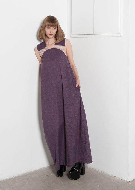 MUMU PLUM DRESS