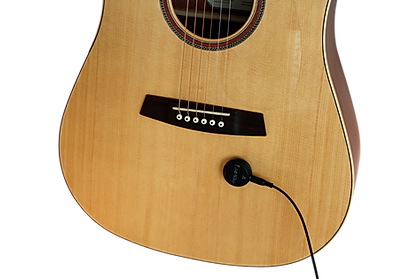 Cling On acoustic pickup with magnetic attachment