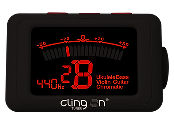 Clingon magnetic tuner display