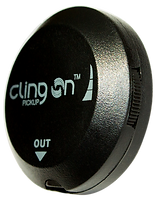 Cling On acoustic pickup with magetic attachment