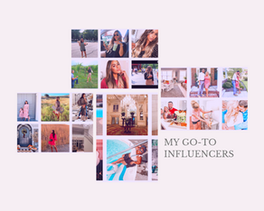 My Favorite Influencers
