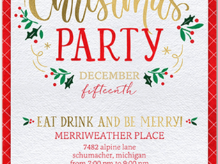 12 Days of Christmas: Day 10. Christmas Eve Party