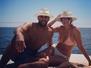 Honeymooning in Santorini