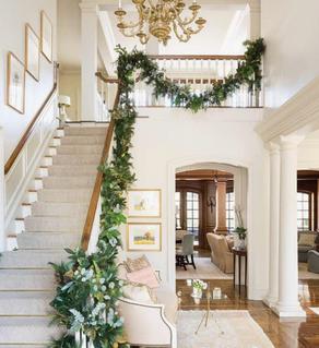 12 Days of Christmas: Day 2. Foyer Decor