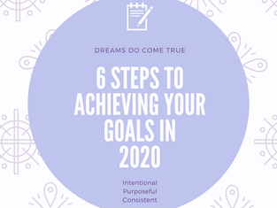 6 Steps to Achieve Your Goals in 2020.