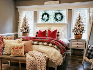 12 Days of Christmas: Day 9. Bedroom Decor