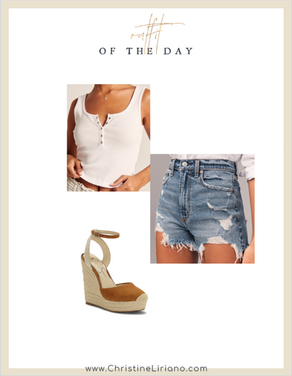 #OOTD: Hot Summer Days & Cold Beer