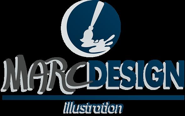 MarcDesign - crazy art of creative minds | logo illustration