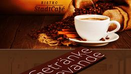 Menukarten Bistro Stadtcafe Meran