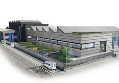 Rendering Doppelmayer Industriehalle