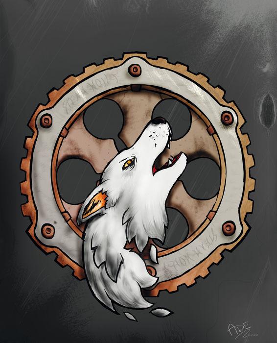 """""""Steam Wollf"""" clan crest"""