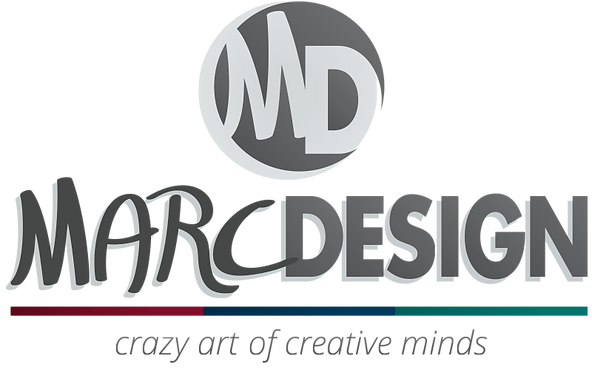 MarcDesign - crazy art of creative minds | logo contact