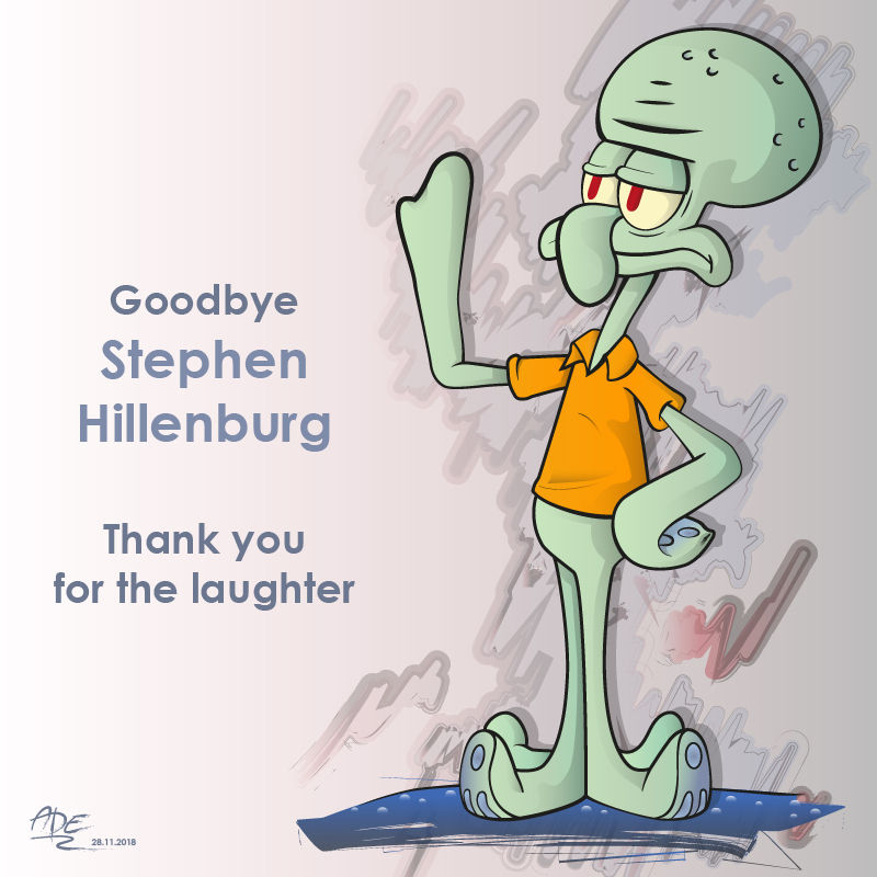 Squidward - in memory of Hillenburg
