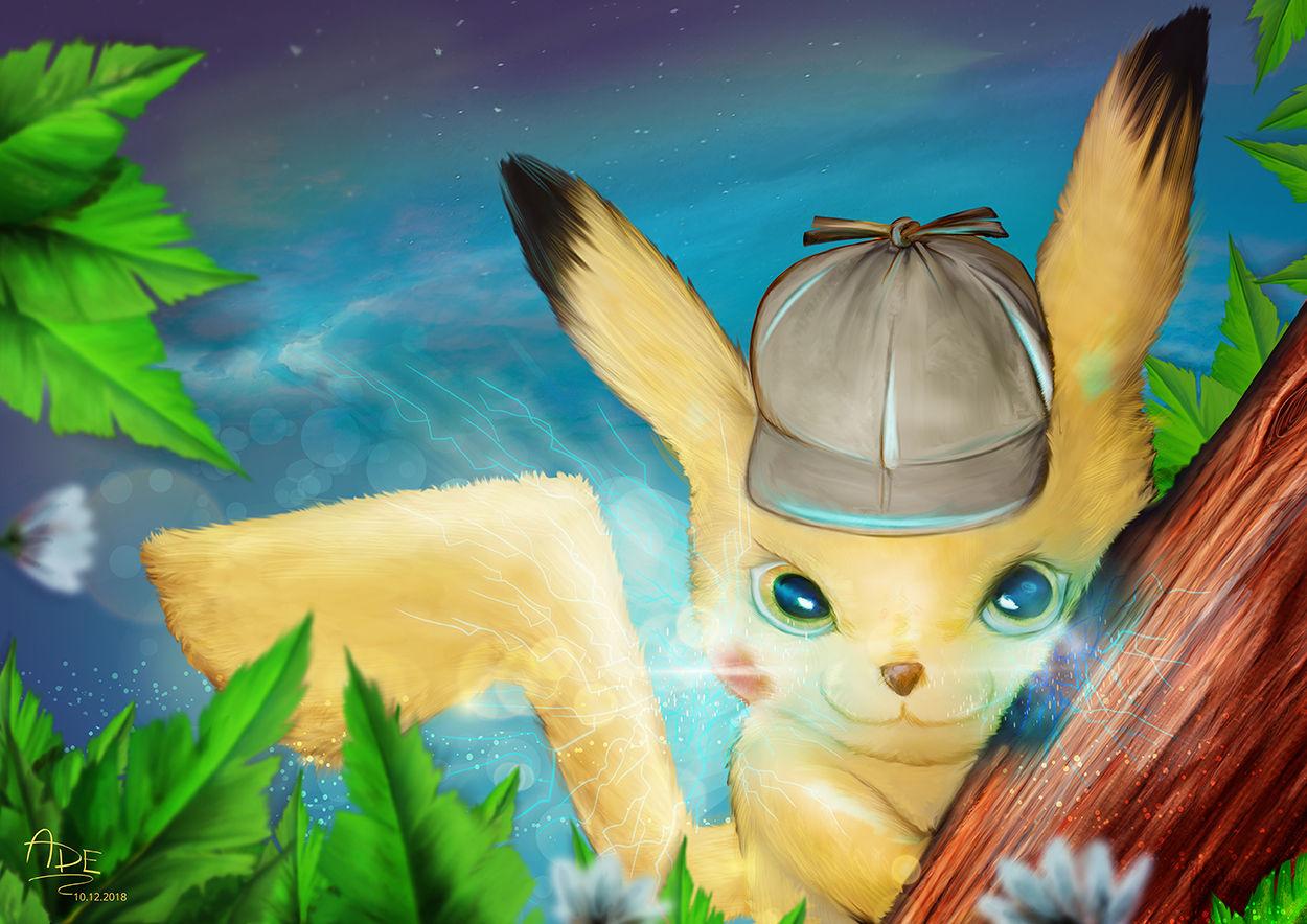 I will electrecute you! - Detective Pikachu