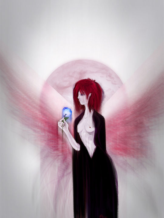 Red Seraphim - Daughter of the Moon - light version