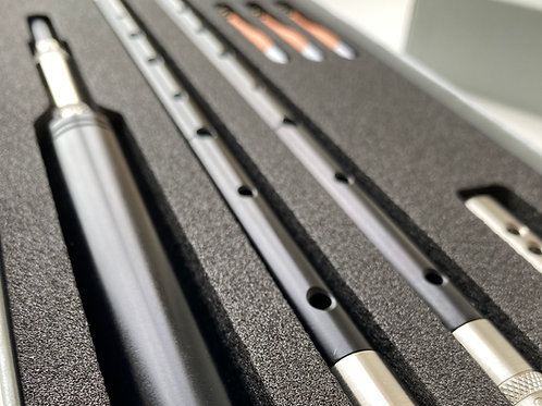 ESSC Stainless Chanter with A & B♭ stems.