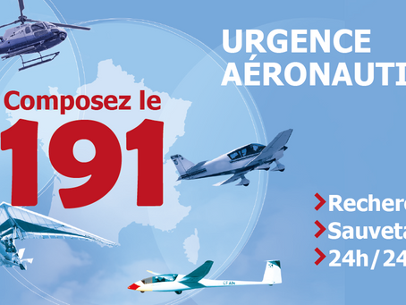 191, le numéro d'appel d'urgence aéronautique