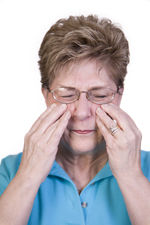 Pain and congestion in the cheek area is seen with sinusitis