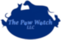 The Paw Watch LLC Logo - Pet Sitting, Dog Walking, Overnight Stays and Care for Special Needs Pets