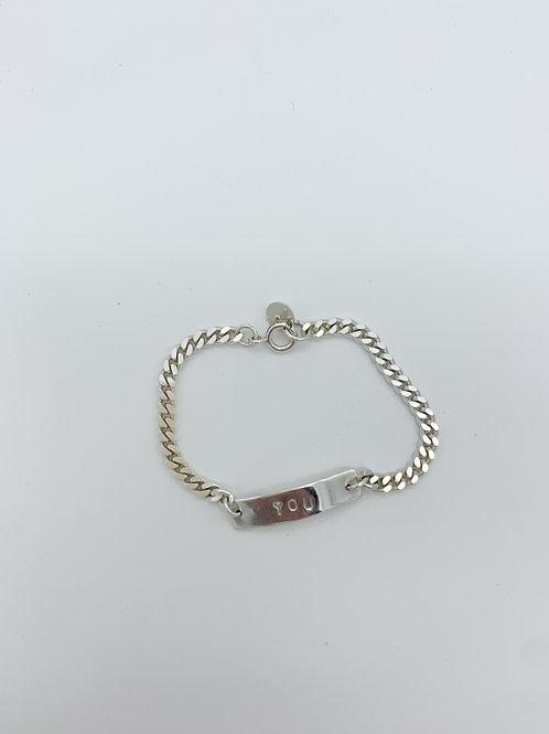 Plate Bracelet - personalized