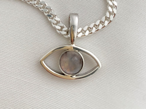 Moonstone Eye Pendant