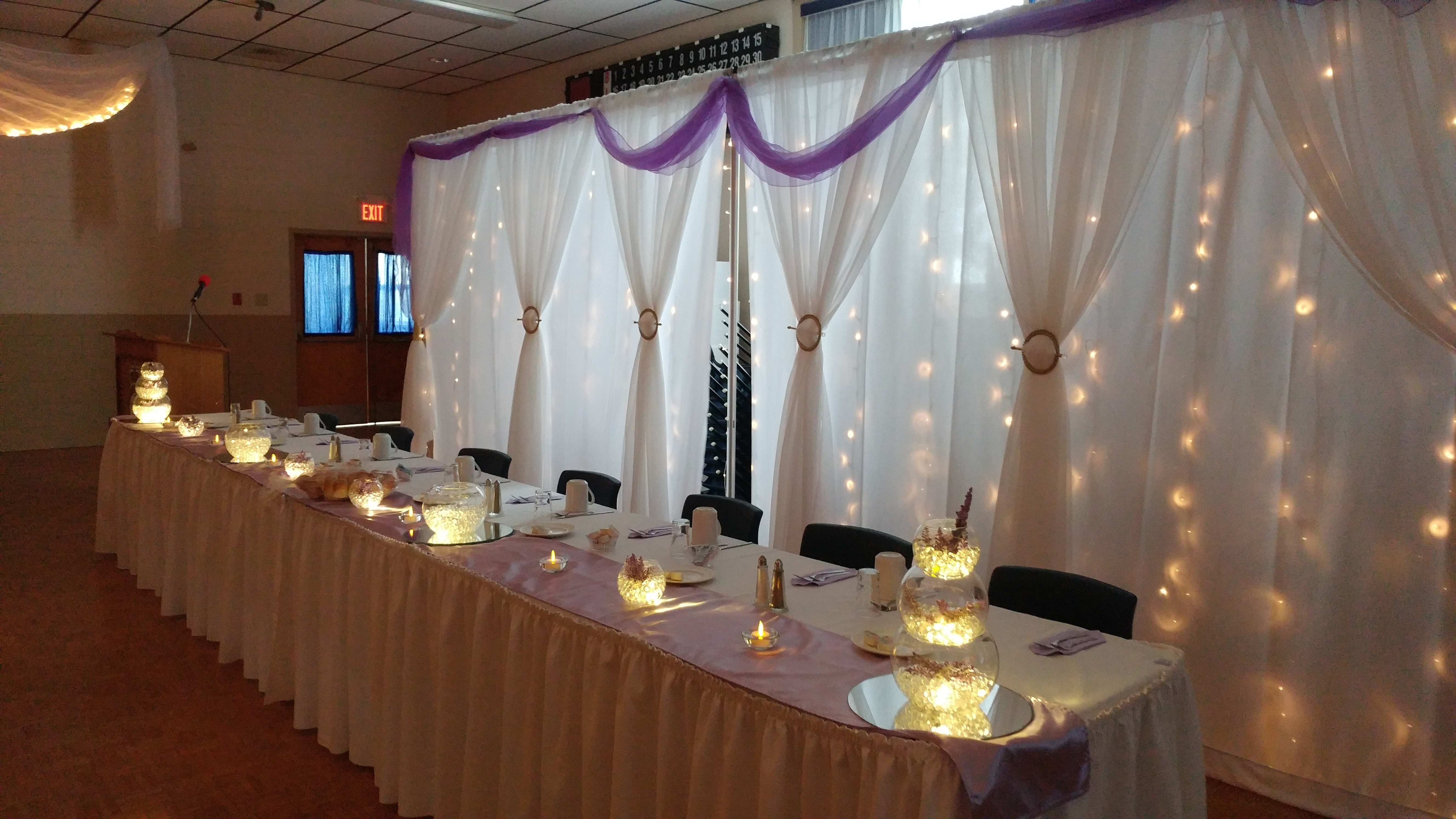 Light Purple Reception