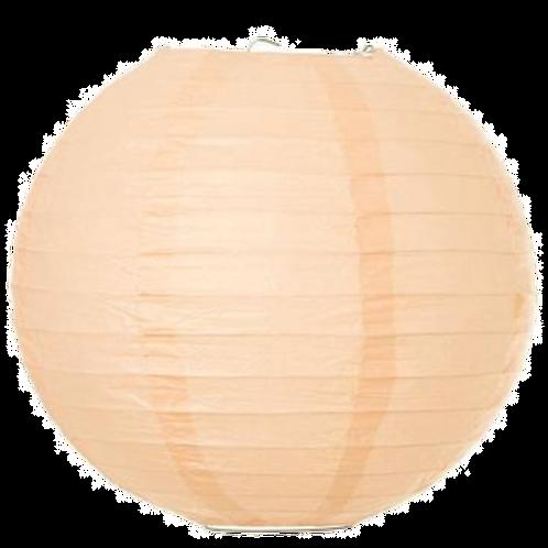 "12"" - Paper Chinese Lantern - Peach"