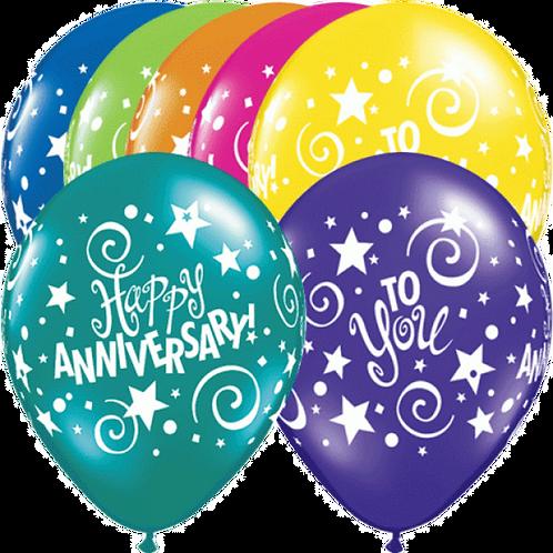 """Happy Anniversary"" ~ 11 Inch"