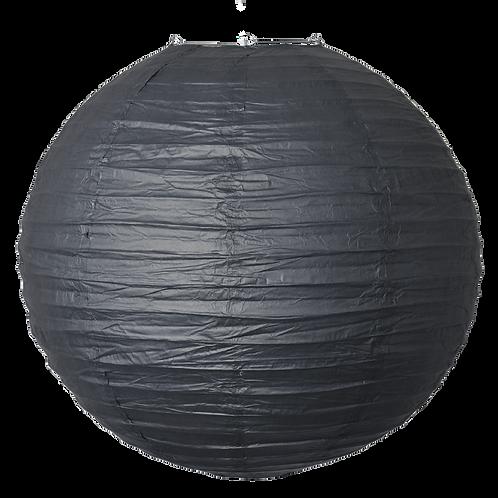 """12"""" - Paper Chinese Lantern - Black"""