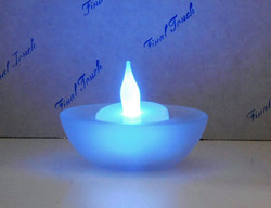 Frosted Tealight Candle Holder
