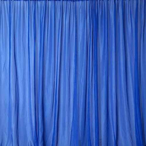 8' Long ~ Royal Blue Sheer