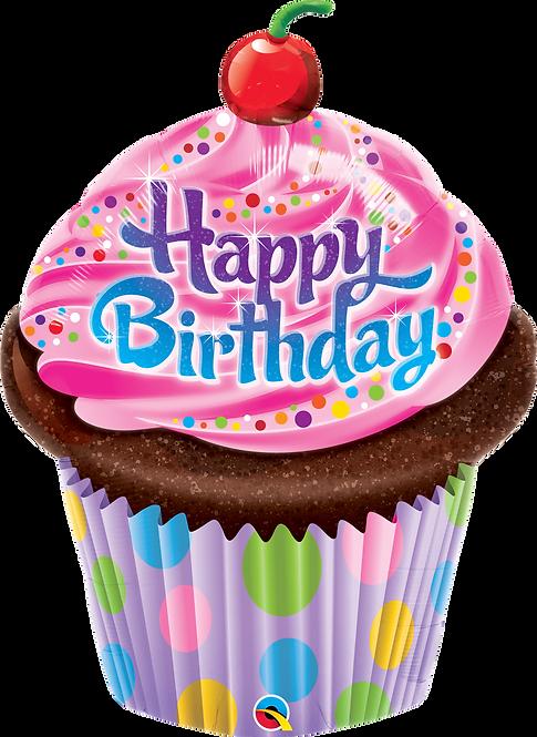 """HB"" Cupcake ~ 35Inch"