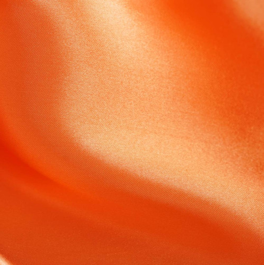 Table Runner ~ Orange Satin